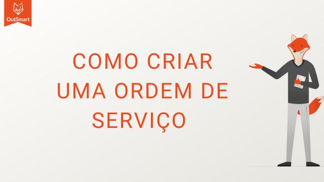 como criar uma ordem de serviço